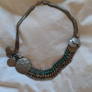 Anthropologie Aspis Statement Necklace